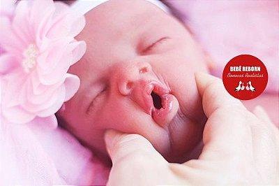Boneca Bebê Reborn Menina Realista Toda Em Silicone Sólido Lindíssima Um Amor De Bebê