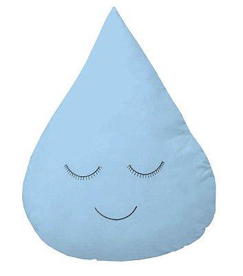 Almofada Gota Azul Bebê