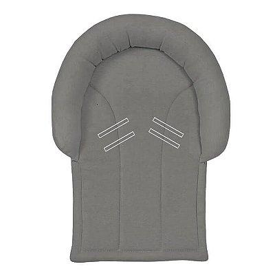 Protetor de Cabeça Cinza para Bebê Conforto