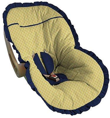 Capa para Bebê Conforto Girona Amarela