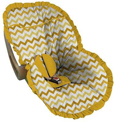 Capa para Bebê Conforto Chevron Burgos