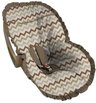 Capa para Bebê Conforto Chevron Jaén