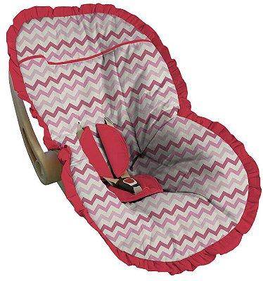 Capa para Bebê Conforto Chevron Colorido Lérida
