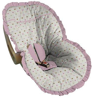Capa para Bebê Conforto Coração Álava