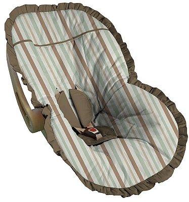 Capa para Bebê Conforto Listrada Messina