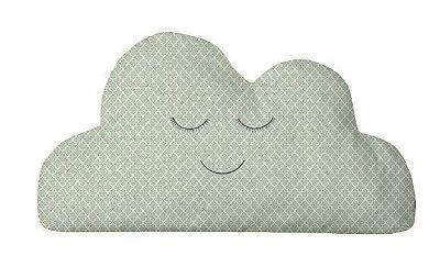 Almofada Nuvem Verde Detalhes
