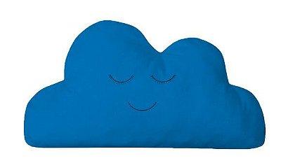 Almofada Nuvem Azul Royal