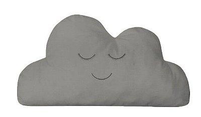Almofada Nuvem Cinza