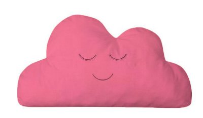 Almofada Nuvem Rosa Chiclete