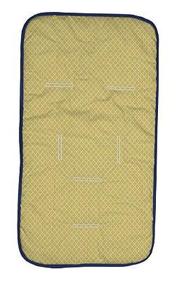 Capa para Carrinho Amarela Origami