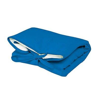 Trocador Portátil Dobrável Azul Royal para Bebê