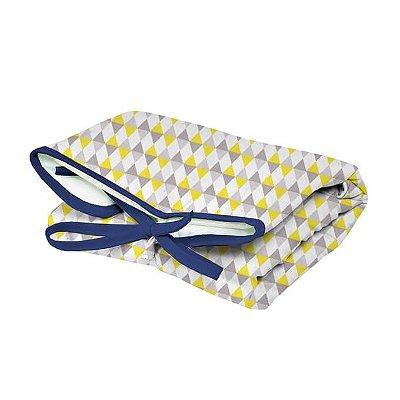 Trocador Portátil Dobrável Balão Amarelo para Bebê