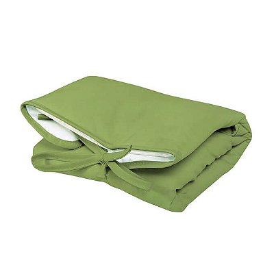 Trocador Portátil Dobrável Verde Pistache para Bebê