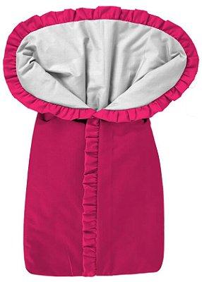 Porta Bebê Saco de Dormir Pink