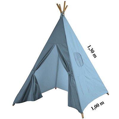 Cabana Tenda Azul Bebê
