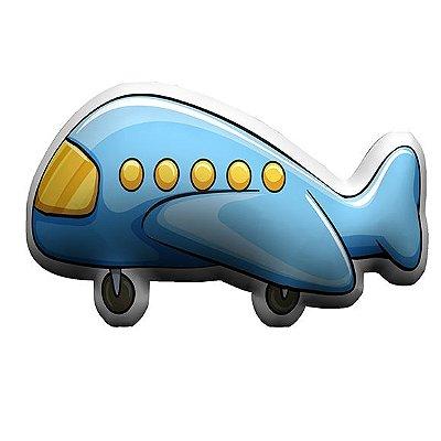 Almofada Temática Avião Azul