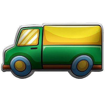 Almofada Temática Caminhão Verde