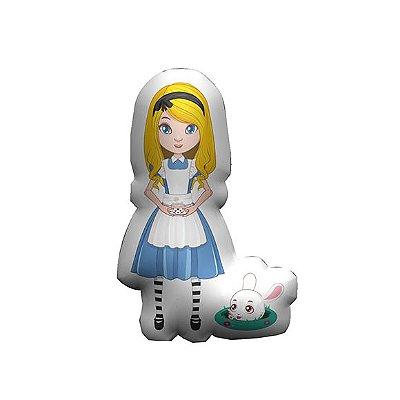Almofada Temática Alice e o Coelho
