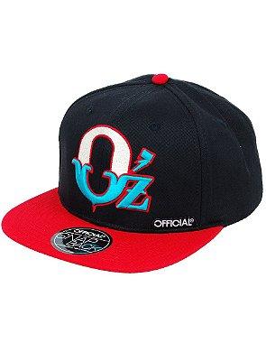 Boné Official Oz Snapback Preto 664de7a66d5