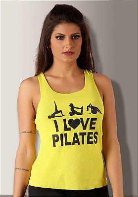 Regata I Love Pilates Amarela