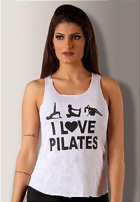 Regata I Love Pilates Branca