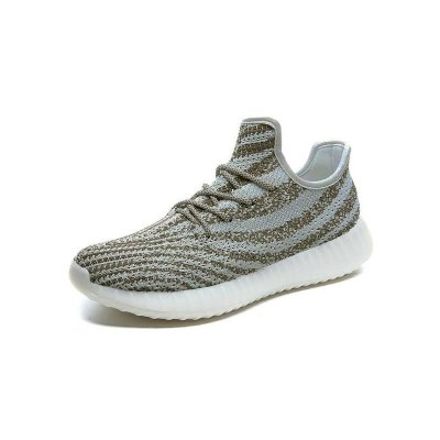 Tênis Adidas Yeezy Boost 550 - Cinza e Bege
