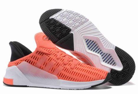 Tênis Adidas Climacool ADV - Laranja e Branco