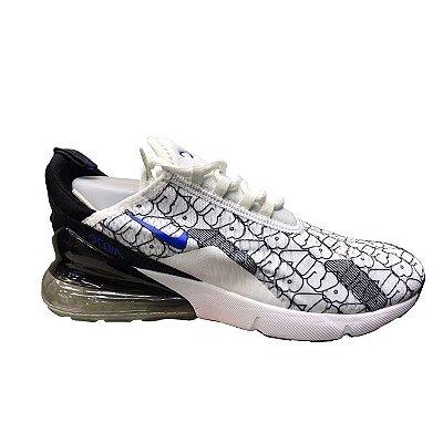 Tênis Nike Air Max 270 - Branco e Preto