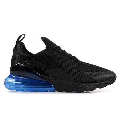 Tênis Nike Air Max 270 - Preto e Azul