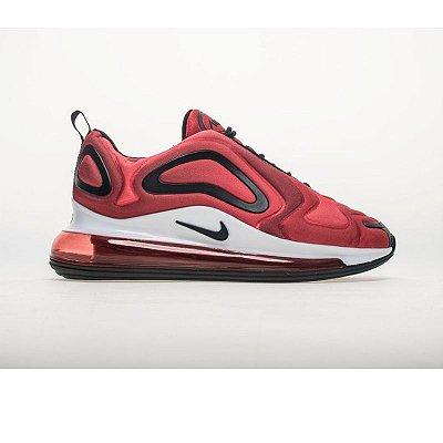 Tênis Nike VaporMax  Flyknit 720 - Vermelho e Preto