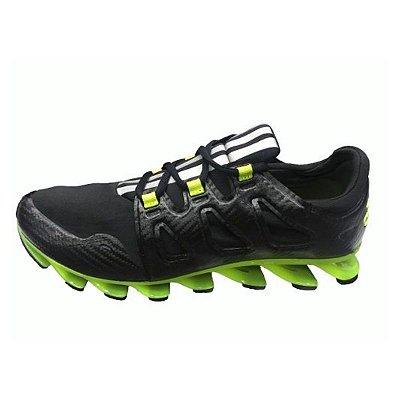 Tênis Adidas Springblade 6 Pro Shoes - Preto e Verde