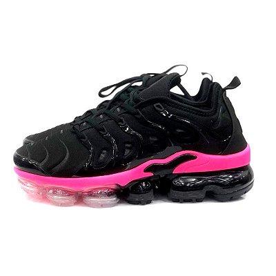 Tênis Nike Air VaporMax Plus - Preto e Rosa