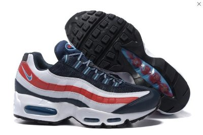 Tênis Nike Air Max 95 - Azul e Vermelho