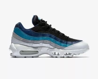Tênis Nike Air Max 95 Azul e Branco