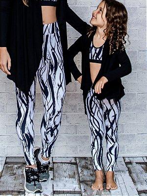Legging Infantil Black and White