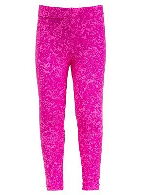 Legging Infantil Neon Pink Water