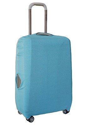 Capa Protetora Para Mala Azul Piscina