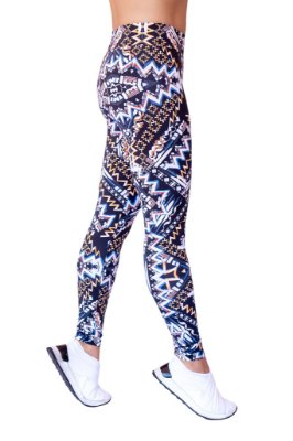 Legging Adulto Tribal África