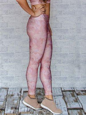 Legging Adulto Rose Cirré Collab Elaine Violini