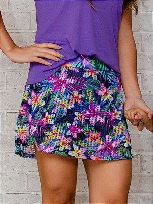 Shorts Saia Adulto Tela Hawaí