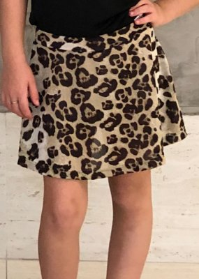 Shorts Saia Estampa Animal Print