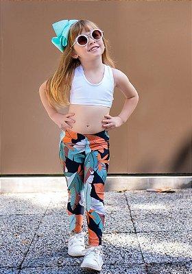 Legging Infantil Brilhante Montreal