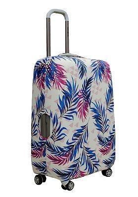 Capa Protetora Para Mala Folha De Palmeira