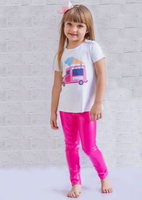 Legging Infantil Barbie Brilhante