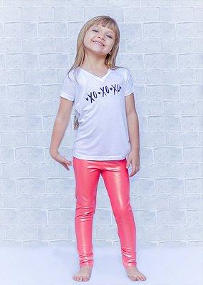 Legging Infantil Coral Pyton Old Gold