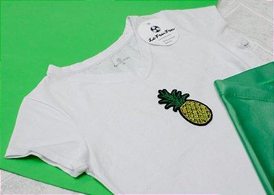 T-shirt Infantil Abacaxi