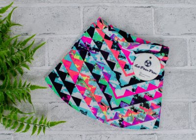 Shorts Saia Estampa Neon Baby