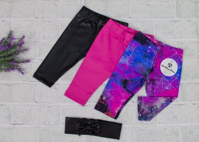 Kit Legging Baby Galaxia