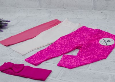 Kit Legging Baby Girls