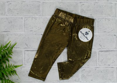 Legging Baby Gold